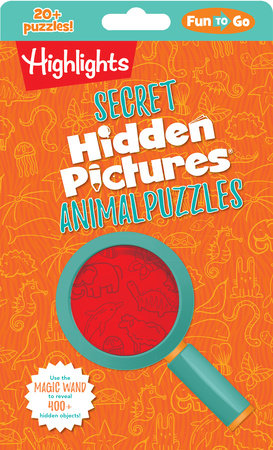 Secret Hidden Pictures® Animal Puzzles by