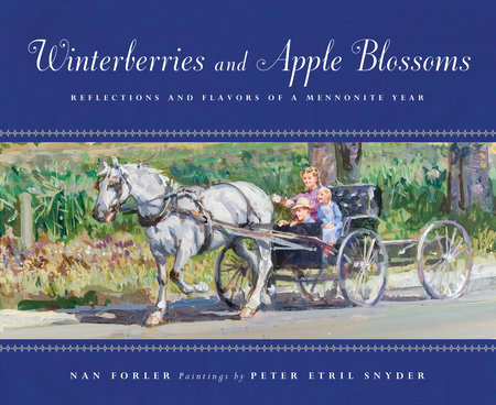 Winterberries and Apple Blossoms by Nan Forler