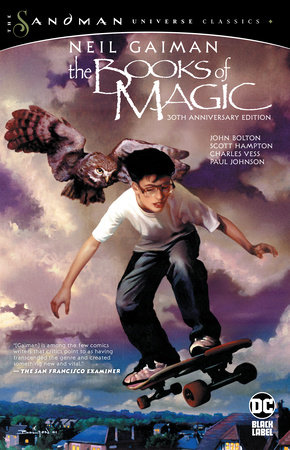 The Books of Magic 30th Anniversary Edition by Neil Gaiman