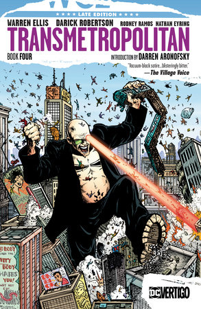 Transmetropolitan Book Four by Warren Ellis
