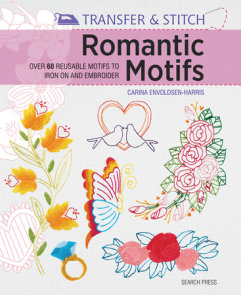 Transfer & Stitch: Romantic Motifs