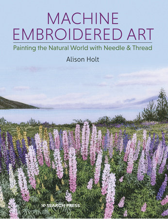 Machine Embroidered Art by Alison Holt