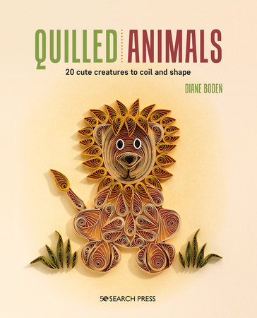 Quilled Animals by Diane Boden