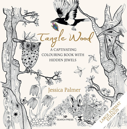Tangle Wood - Large Format Edition by Jessica Palmer
