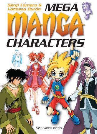 Mega Manga Characters by Sergi Càmara