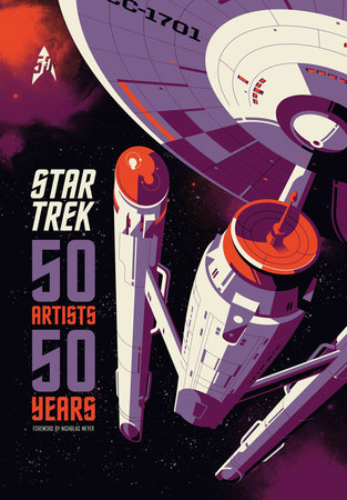 Star Trek: 50 Artists 50 Years by Titan Books