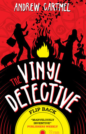 The Vinyl Detective - Flip Back by Andrew Cartmel