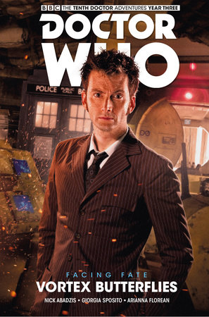 Doctor Who: The Tenth Doctor: Facing Fate Vol. 2: Vortex Butterflies by Nick Abadzis