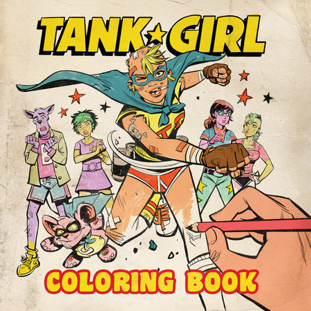 Tank Girl Coloring Book by Alan Martin