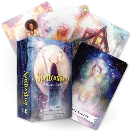 Spellcasting Oracle Cards by Flavia Kate Peters and Barbara Meiklejohn-Free