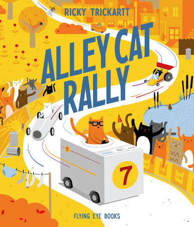 Alley Cat Rally by Ricky Trickartt