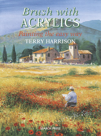 Brush with Acrylics by Terry Harrison