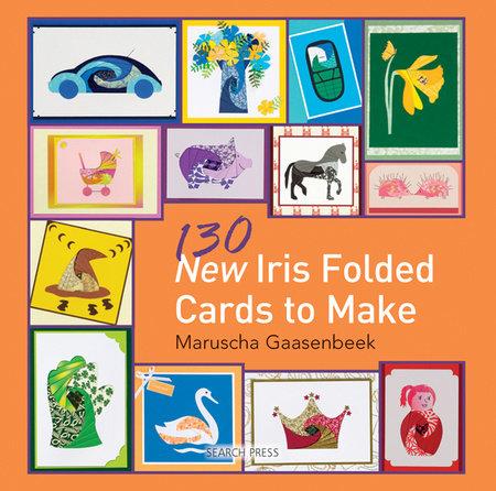 130 New Iris Folded Cards to Make by Maruscha Gaasenbeek