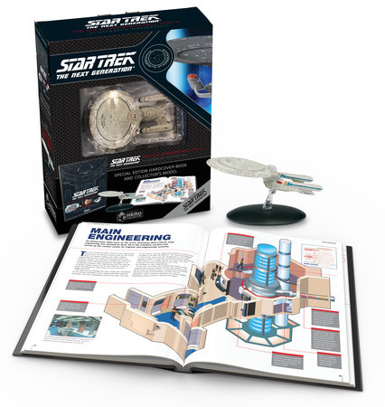 Star Trek The Next Generation: The U.S.S. Enterprise NCC-1701-D Illustrated Handbook Plus Collectible by Ben Robinson and Marcus Riley