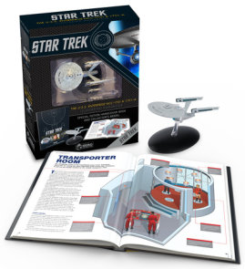 Star Trek: The U.S.S. Enterprise NCC-1701 Illustrated Handbook Plus Collectible