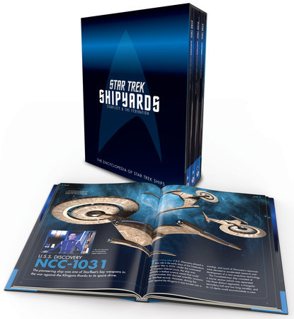 Star Trek Shipyards: Starfleet and the Federation Box Set by Ben Robinson and Marcus Riley