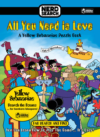 The Beatles Nerd Search: Yellow Submarine by Bill Morrison