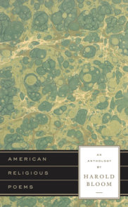 American Religious Poems: An Anthology by Harold Bloom