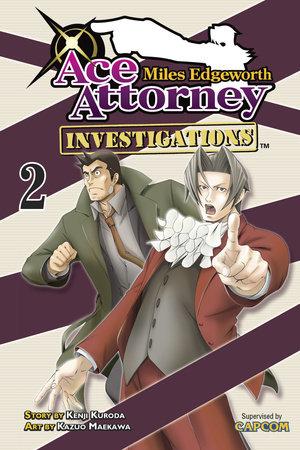 Miles Edgeworth: Ace Attorney Investigations 2 by Kenji Kuroda