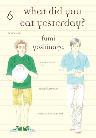 What Did You Eat Yesterday?, Volume 6