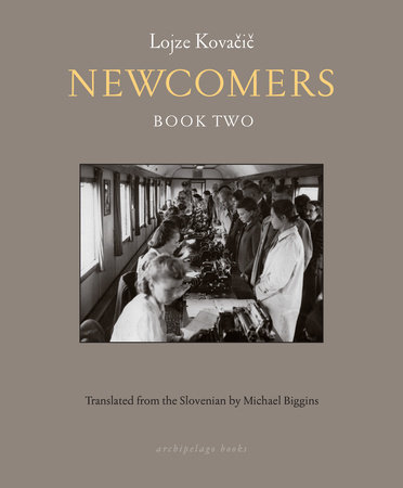 Newcomers by Lojze Kovacic