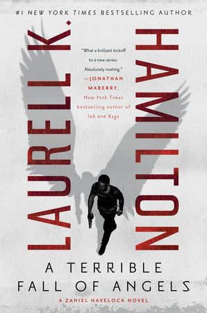A Terrible Fall of Angels by Laurell K. Hamilton