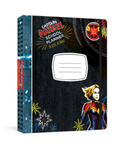Captain Marvel School Planner: Be Bold, Be Brave