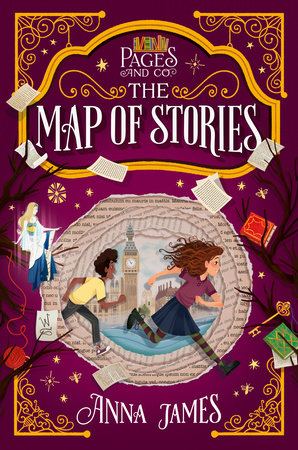 Pages & Co.: The Map of Stories by Anna James