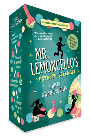 Mr. Lemoncello's Funtastic Boxed Set by Chris Grabenstein
