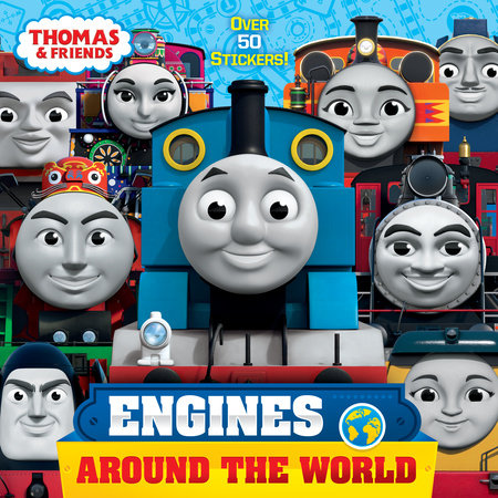Engines Around the World (Thomas & Friends) by Christy Webster