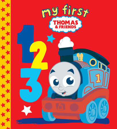 My First Thomas & Friends 123 (Thomas & Friends) by Golden Books