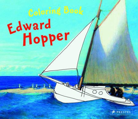 Coloring Book Hopper by Doris Kutschbach