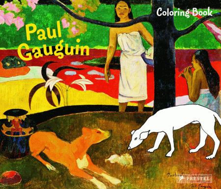 Coloring Book Gauguin by Annette Roeder