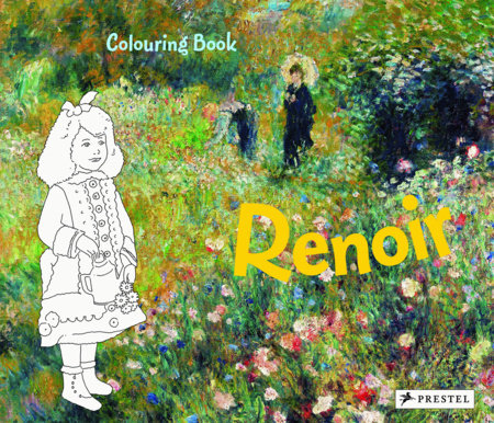 Coloring Book Renoir by Annette Roeder