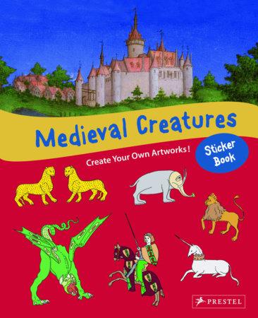 Medieval Creatures Sticker Book by Sabine Tauber