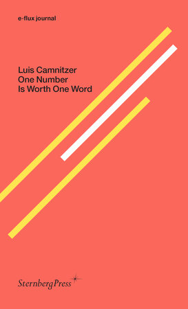 One Number Is Worth One Word by Luis Camnitzer