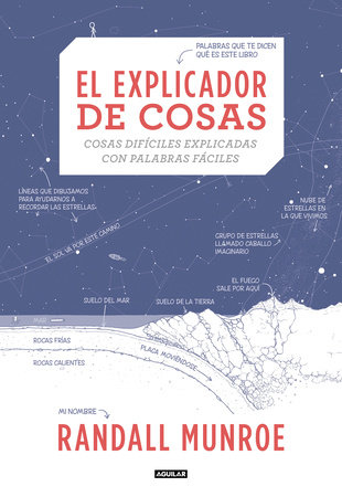 El explicador de cosas: cosas difíciles explicadas con palabras fáciles / Thing Explainer: Complicated Stuff in Simple Words by Randall Munroe
