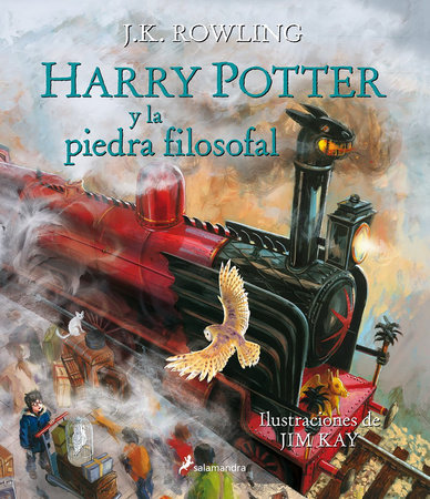 Harry Potter y la piedra filosofal. Edición ilustrada / Harry Potter and the Sorcerer's Stone: The Illustrated Edition by J.K. Rowling